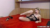 show webcam blonde juicy tits big Cute
