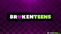 BrokenTeens - Teen's Ass Fucked Hard