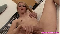 cock perfect a with shemale blonde Exquise