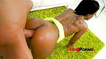 noemilk first anal ebony slut rides big cock sz1371