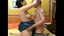 Tight pussy'd bbw fucked in multiple positions