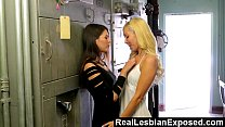 reallesbianexposed   her first time with another girl