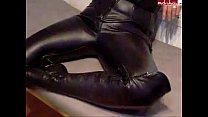 Cum On Leather