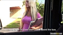 Blondie banged by stranger for a ride