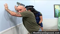 RealAsianExposed – Police asian bitch can't res...