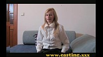 blonde cooky for creampie anal - Casting