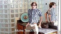 hottie teen team tag son step and mom - Youporn