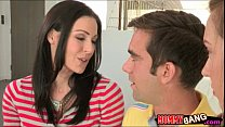 Maddy Oreilly and Kendra Lust tag teaming one lucky cock porn videos