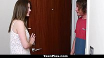 teenpies   teen gets creampied by her mom s bf