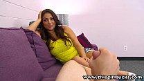 ThisGirlSucks Big tits pornstar Rikki Nyx blowj...