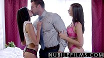 cum swapping babes college has threesome Surprise