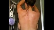 british pawg strips and takes a shower part 2