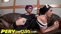 spanking areana brandon cleo maid the Punishing