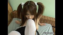 Sexy chick Ai Kurosawa blowjob