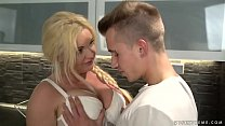 Busty older woman loves young dick - Franny, Ol...