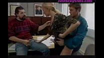 German Threesome in Office