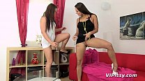 Mea Melone and Wendy Moon Lesbian Pissing