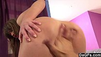 Ass Fingering Makes Her Squirt Like Crazy