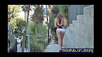 pt1 hottie flashing public in nude - d. Elizabeth