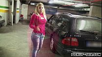 sultry amateur blonde eurobabe ellen pounded for money