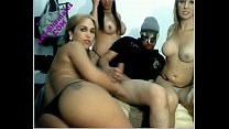 friends aletrans with sex orgy shemale group Leo-shemales-
