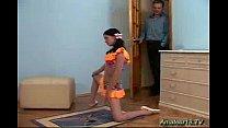 Flexible gymnast need big cock
