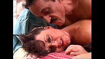 Debella is a saucy old spunker in stockings who...
