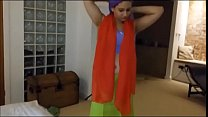 saree removing aunty Busty
