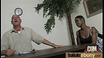 Interracial Group Sex! HUGE TITS! 5