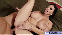 Big Tits Horny WIfe Banged Hard Style video-17