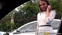 StrandedTeens - Teen gets some hot anal in the car thumbnail