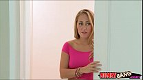 Stepmom Julia Ann and teen slut threeway with n...