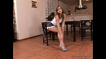 kitchen the in pussy her fuck to loves spears Susana