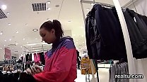 stellar czech sweetie is seduced in the supermarket and rode in pov