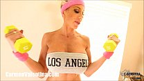 carmen valentina and puma swede s slutty work out
