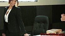 Hairy latina officebabe fucking delivery boy