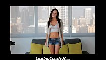 XXX CastingCouch X - Slut shows her tight pussy on cam Videos Sex 3Gp Mp4