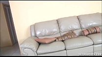 couch the on handjob Double