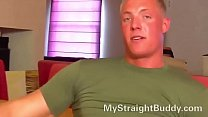 straight marine has monster cock – Free Porn Video