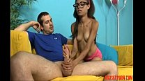Hot Teen Jerks off Her Step-brother abuserporn.com