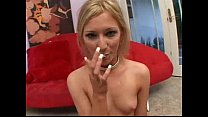 swallows three loads. who is this girl name