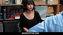 shoplyfter   corrupt teen blackmailed and fucked