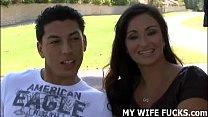 watching my wife mia fucking a stranger
