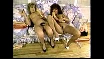 2 sexy hermaphrodites lick suck and masterbate each other.