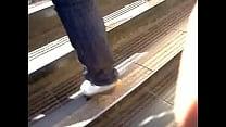 ... mature escaleras!!\/\/ subiendo madura de Culazo