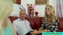 Mature couple seduce their stepdaughter porn videos