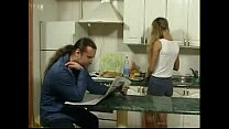 sex for kitchen in father seduce daughter Britishteen