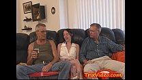 Young Teen Does DADDY and UNCLE thumbnail