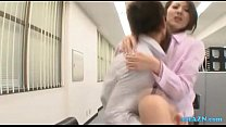 Office Lady Getting Her Pussy Fucked Cum To Tit...
