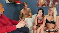 Sexy girl is brought in anal asylum for harsh t...